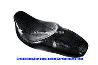 FF8121 CROCODILIAN FAUX LEATHER FOR HD TOURING 09-17